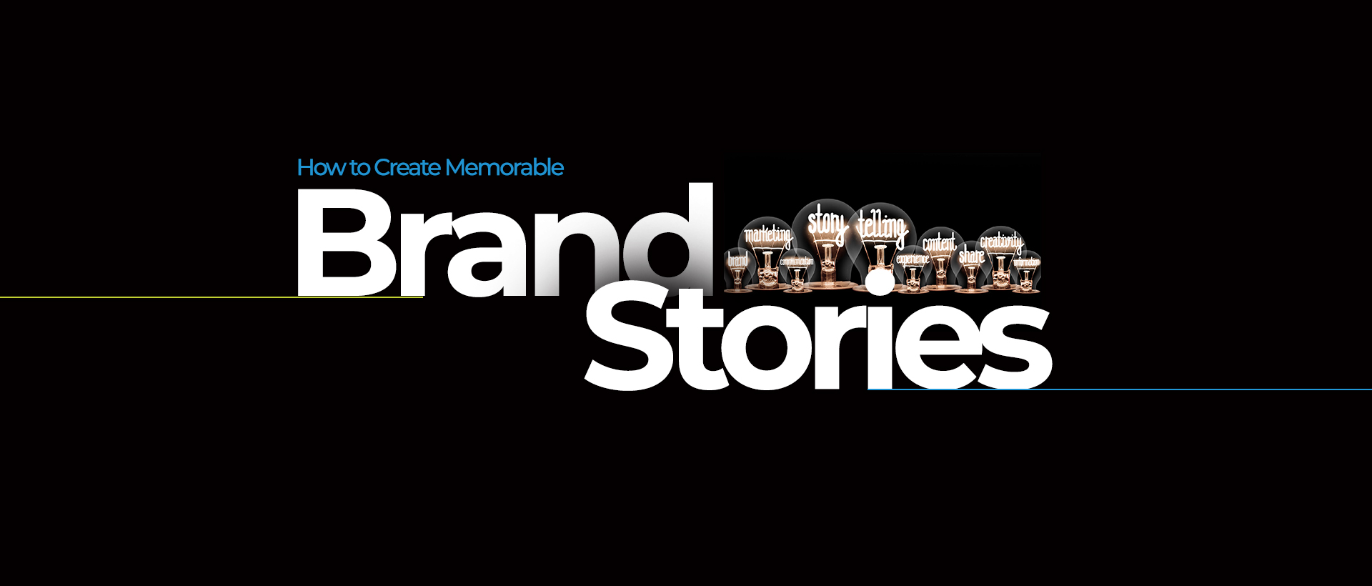 How to Create Memorable Brand Stories